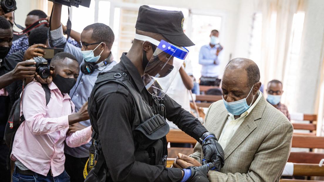 Declaran culpable de cargos relacionados con el terrorismo al hombre que inspiró la película 'Hotel Ruanda'