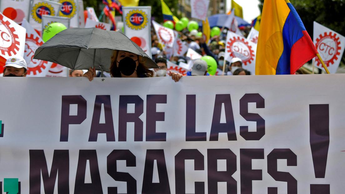 Encuentran tres cadáveres baleados en una zona rural de Colombia y el número de masacres asciende a 71 en lo que va de año
