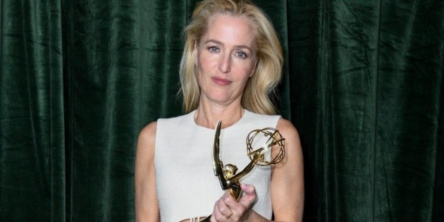Emmys 2021: Gillian Anderson's reaction when asked if she spoke to Margaret Thatcher