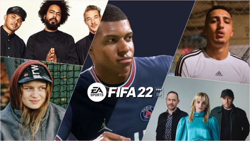Official FIFA 22 and Volta Soundtrack: all songs and artists;  official Spotify list