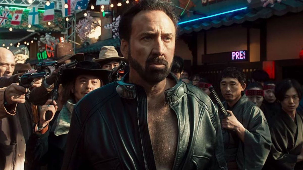Nicolas Cage says he will 'never leave' cinema