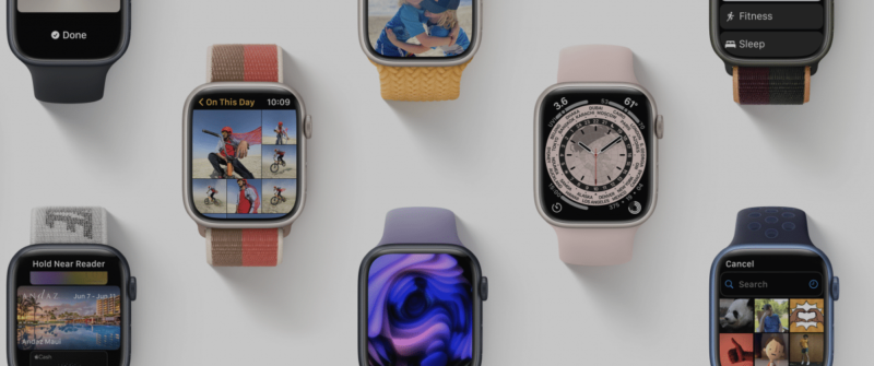 watchOS 8 brings innovations to the Apple Watch