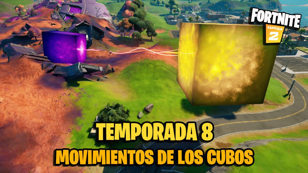 Fortnite Season 8: this is how the cubes will move