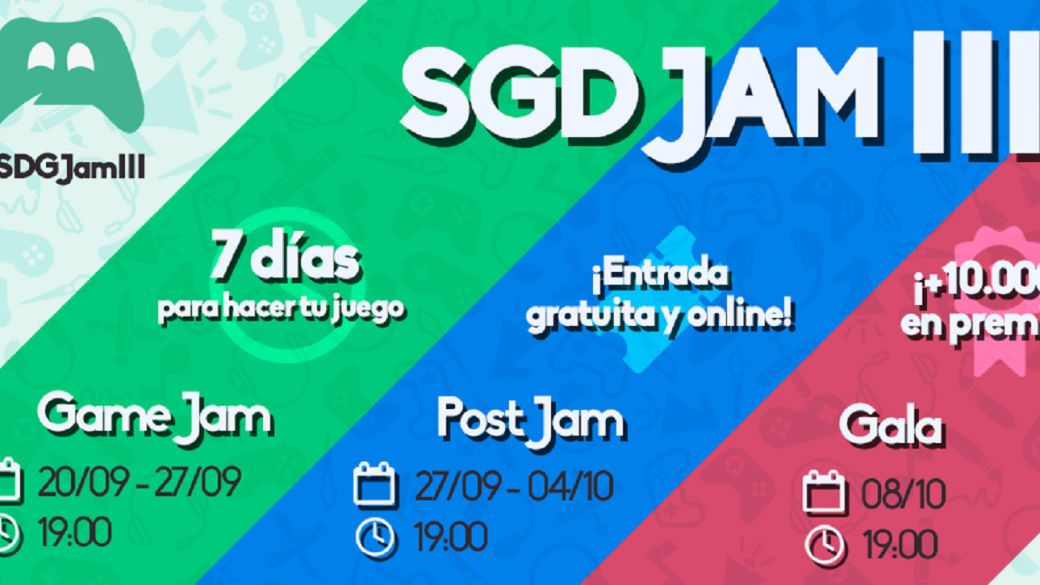 Spain Game Devs Jam returns in its third edition;  dates, guests and more