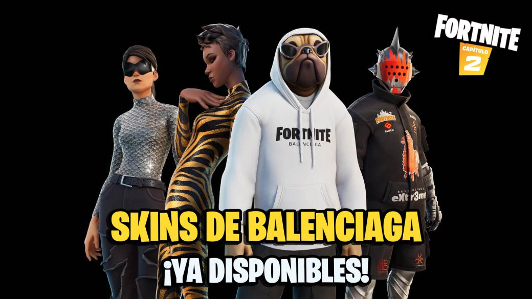 Fortnite: Balenciaga skins now available;  price and contents