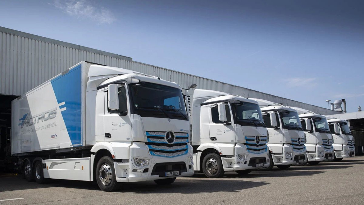 Daimler Truck wants to significantly reduce the proportion of internal combustion engines
