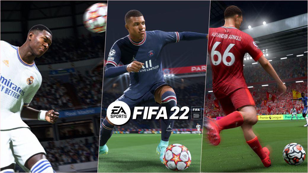 FIFA 22 precio tráiler fecha de lanzamiento ps5 ps4 xbox pc