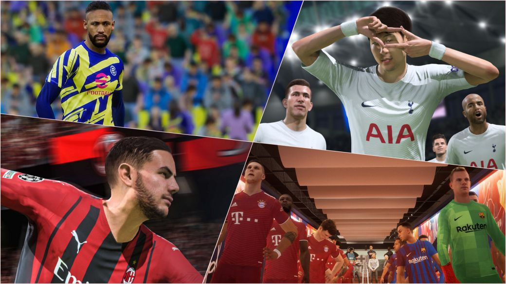 FIFA 22 vs eFootball 2022: what licenses does each game have?