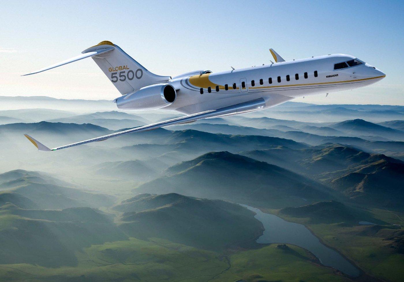 Bombardier Goblal 5500