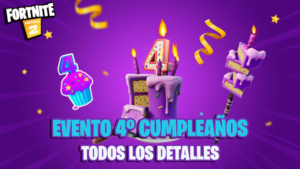 Fortnite Fourth Birthday event: dates, times, and prizes