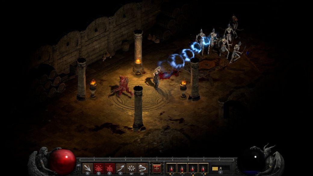 "Diablo 2: Resurrected works ""like butter"" on Switch, Blizzard says"