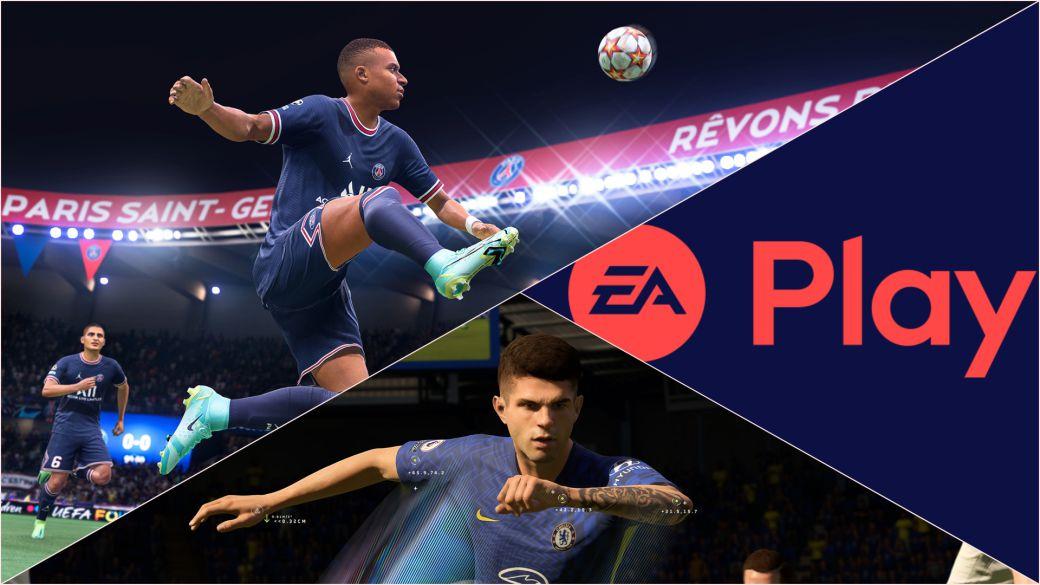 FIFA 22 EA Play prueba fecha duración hora