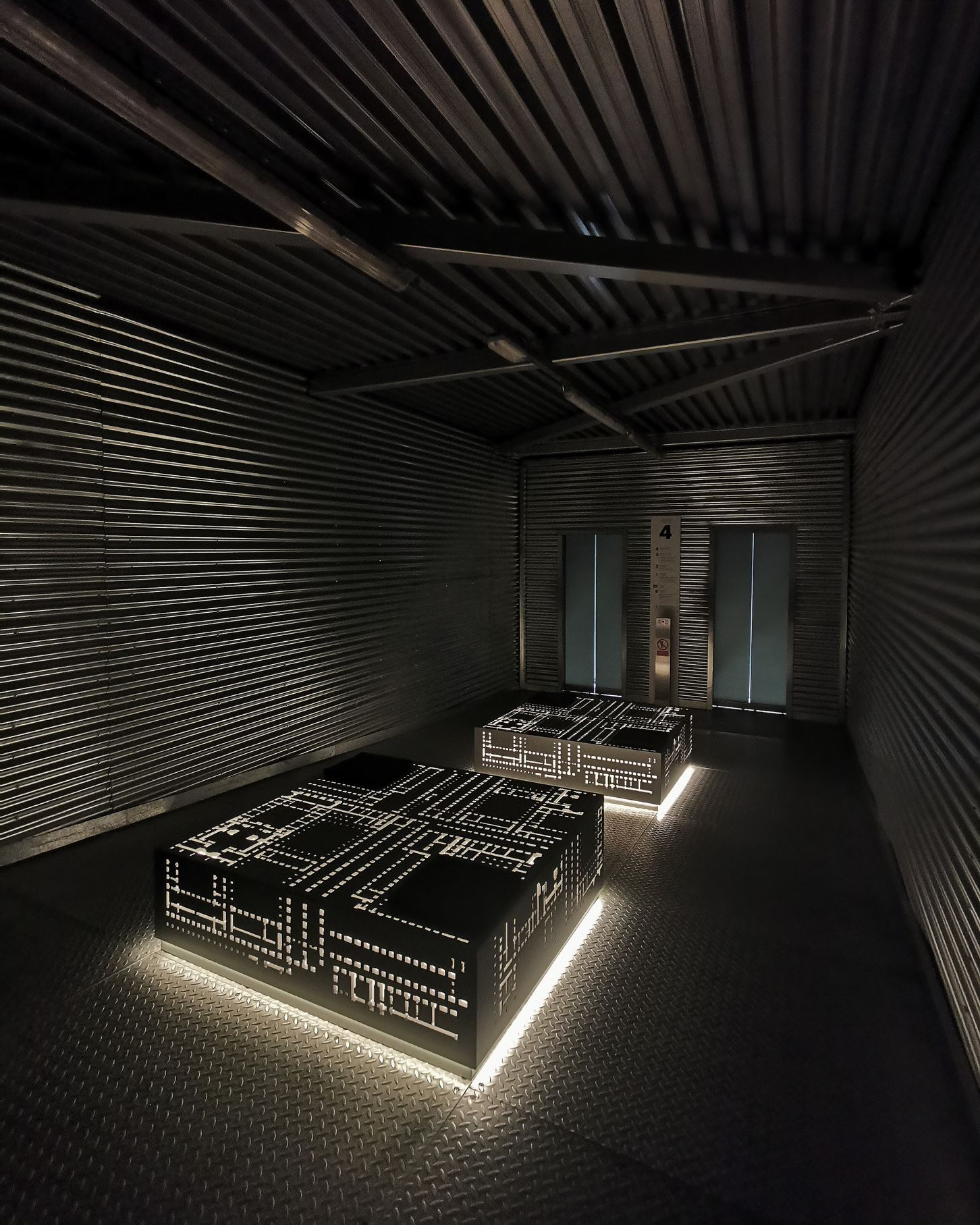 Arkitektonisk utstilling / Foto: Museo Reina Sofía