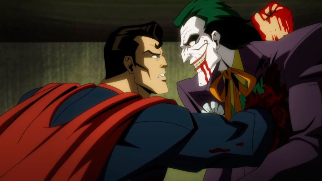 Injustice: new and violent trailer of the animated film with the gore Superman