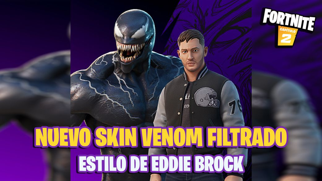 Fortnite: a new Venom skin with an Eddie Brock style is coming soon