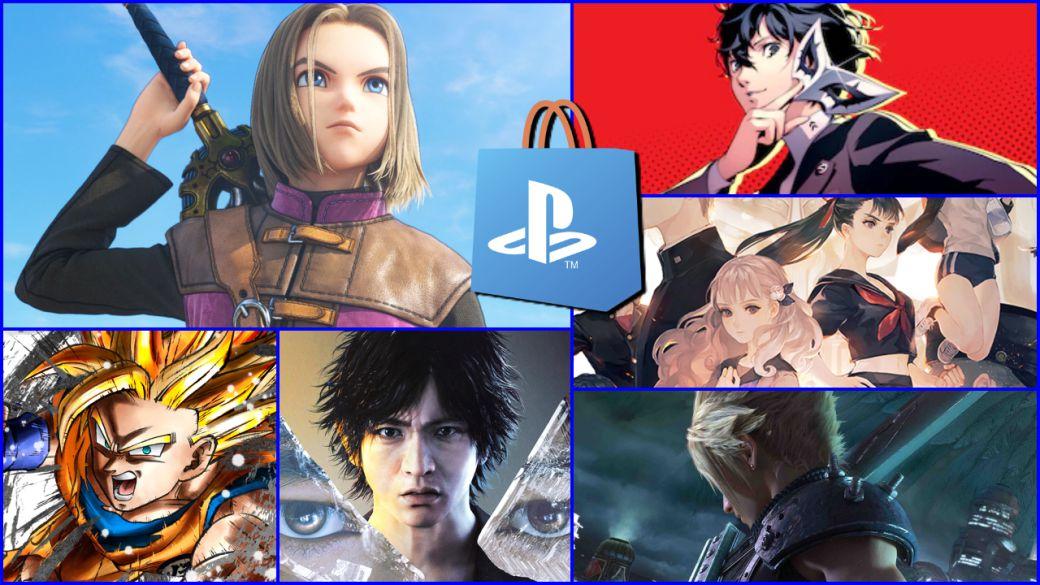 PS5 and PS4 offers - Big hits in Japan: Final Fantasy 7, NieR, Scarlet Nexus, Yakuza ...