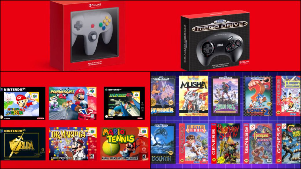 Nintendo 64 and Mega Drive Coming to Nintendo Switch Online;  date, price and games