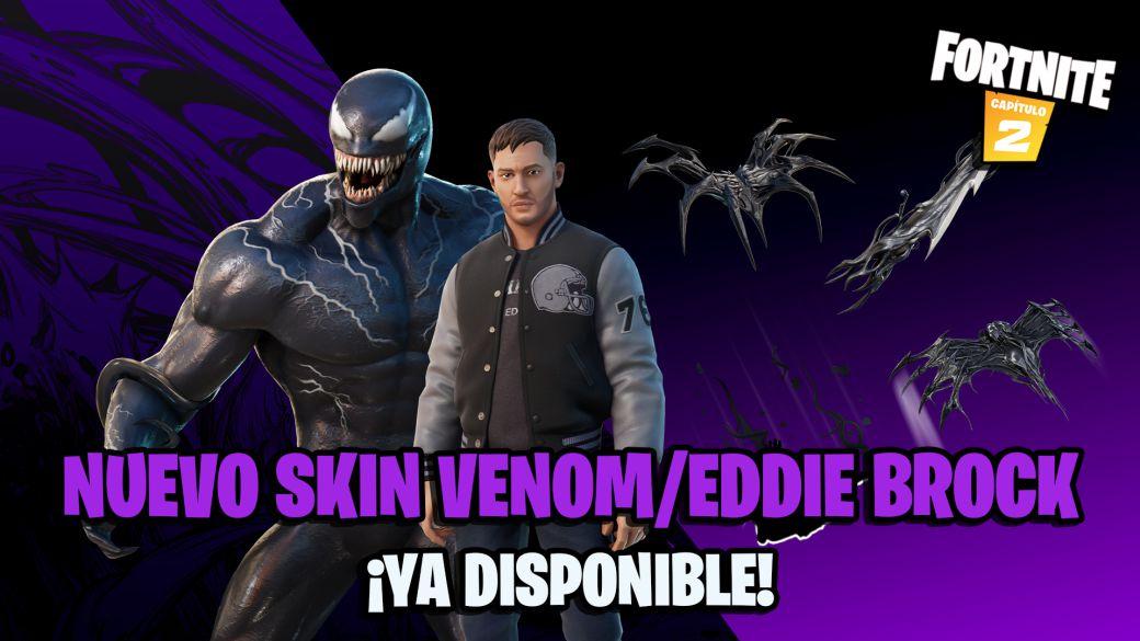 Fortnite: Marvel's Eddie Brock / Venom Skin Now Available;  price and contents