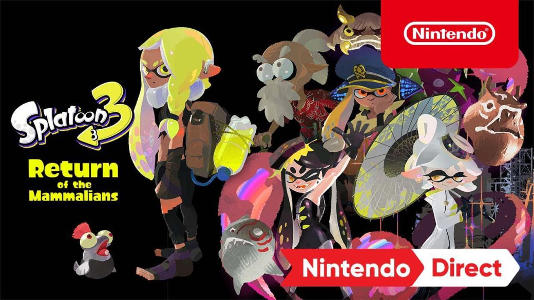 Splatoon 3 splashes with a new trailer;  will have story mode and will arrive in 2022