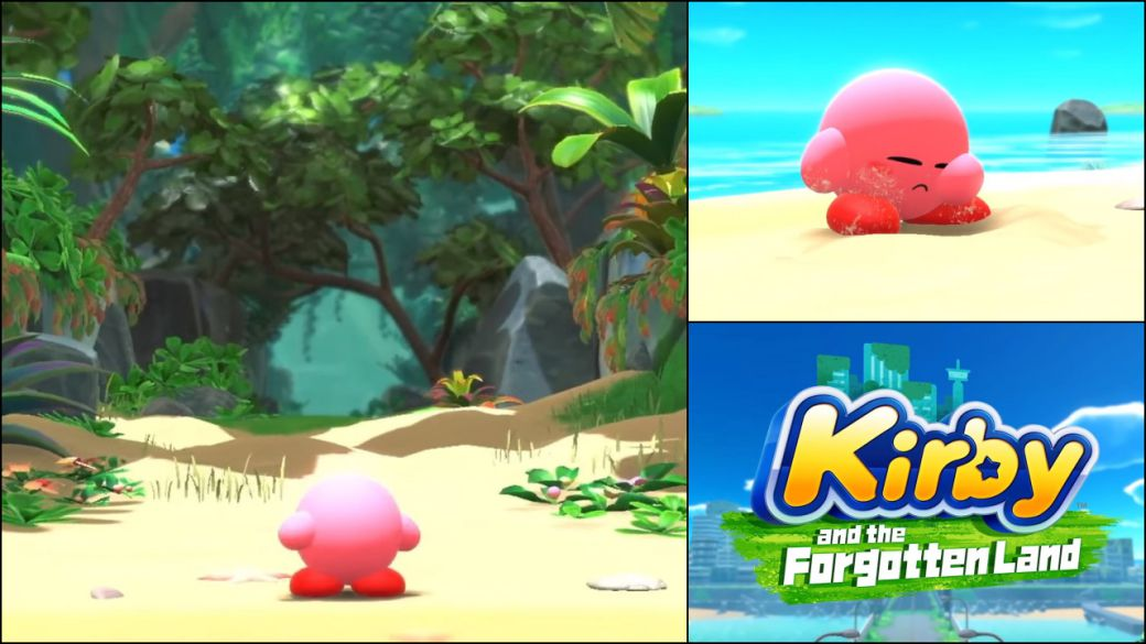 Kirby and the Forgotten Land is official;  date and first trailer of the return of the saga