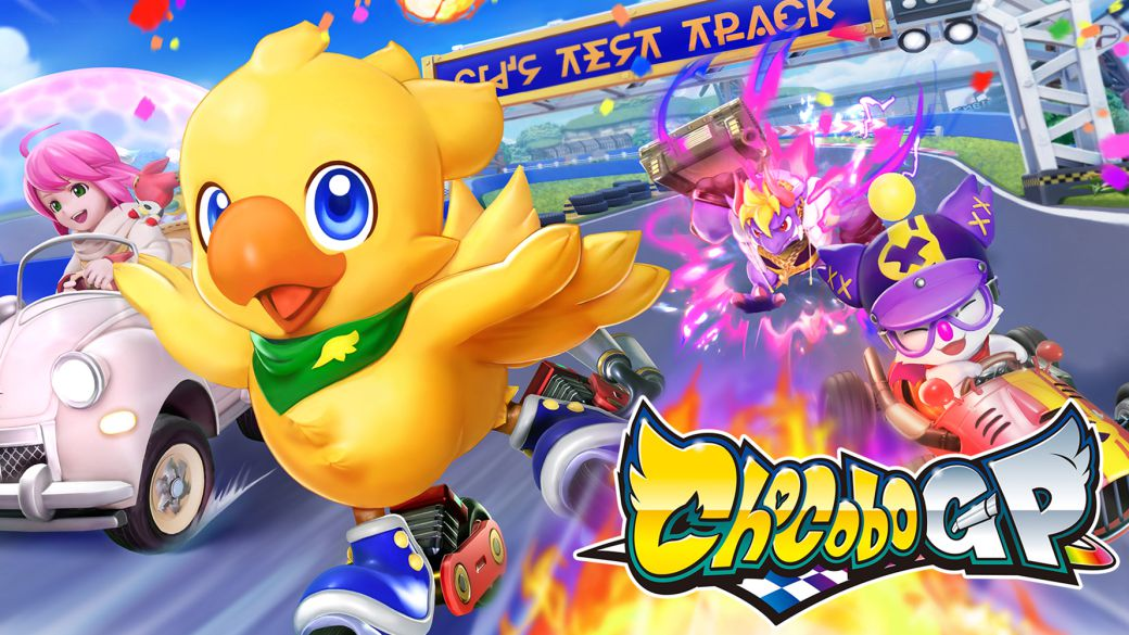 Chocobo GP passes the finish line and will arrive as a Nintendo Switch exclusive title
