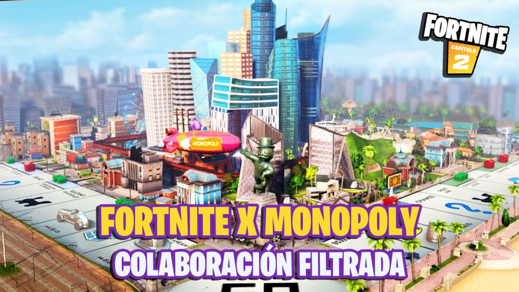 Fortnite x Monopoly: leaked collaboration with the board game