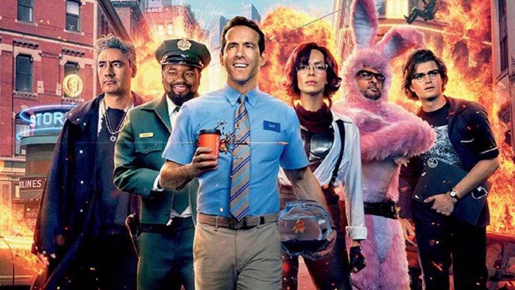 Free Guy (Ryan Reynolds) Coming to Disney + in October