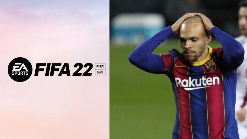 "Braithwaite disagrees with his FIFA 22 stats: ""I run more on crutches"""