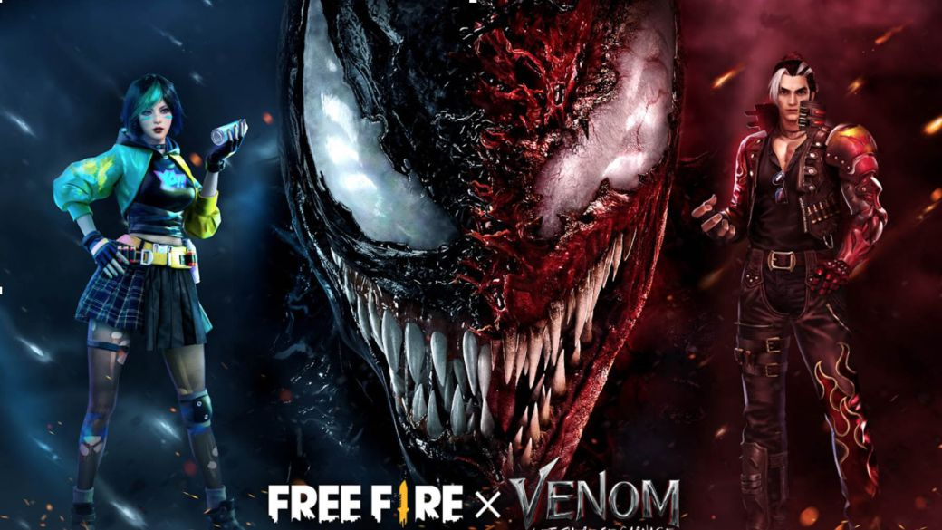 Free Fire x Venom There will be Carnage, first official crossover: date and details of the event