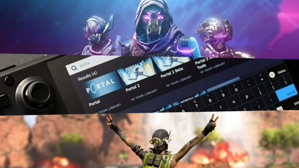Steam Deck will be compatible with games like Apex Legends, Destiny 2 or PUBG finally