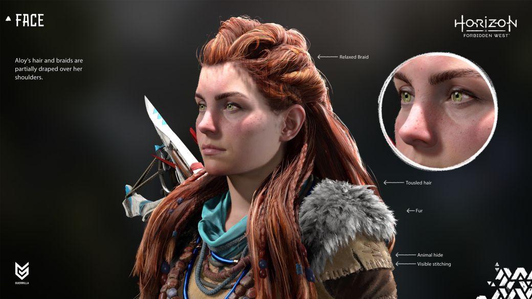 Horizon Forbidden West details character upgrades on PS5