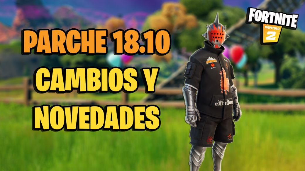 Fortnite - 18.10 patch notes: update changes and news