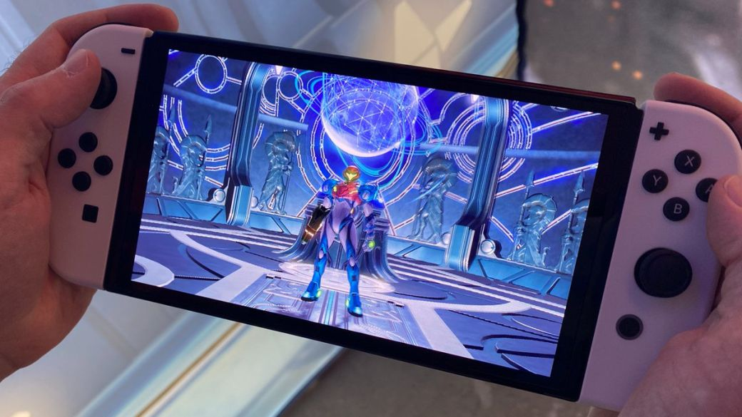 Metroid Dread: First Look at the Game Map on Nintendo Switch OLED