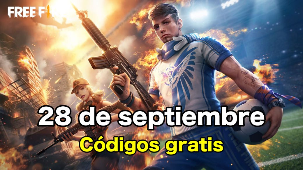 Today's Free Fire Codes September 28, 2021;  all free rewards