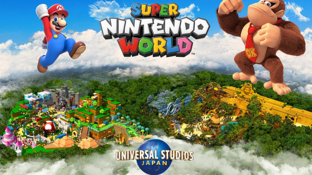 Super Nintendo World will have a Donkey Kong section, but we will have to wait until 2024