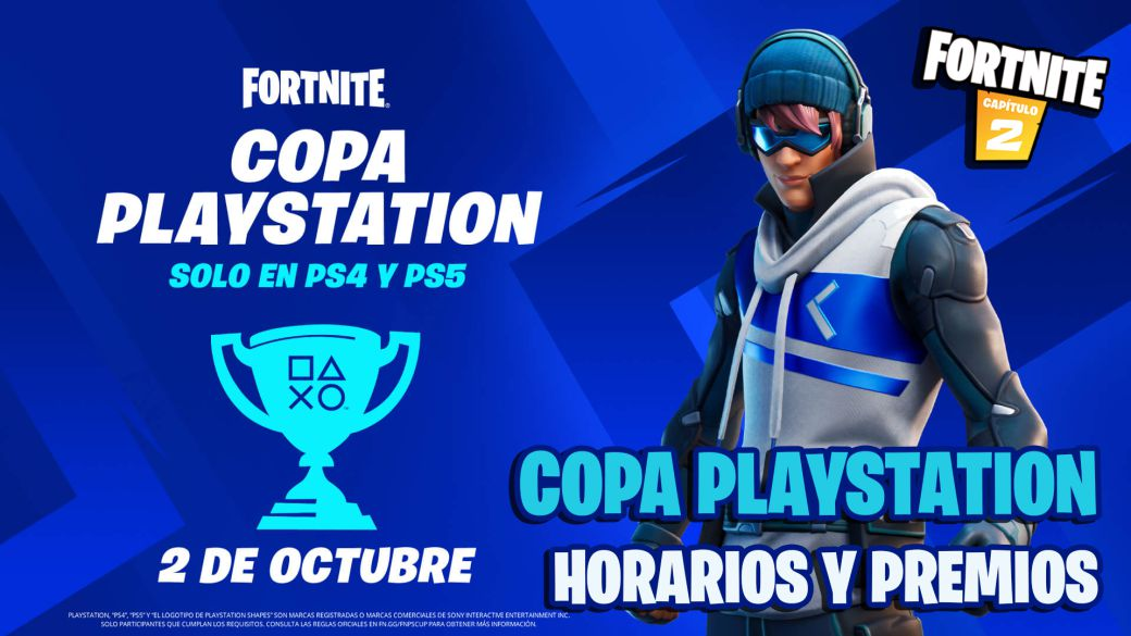 Fortnite PlayStation Cup on PS4 and PS5: date, times and how to participate