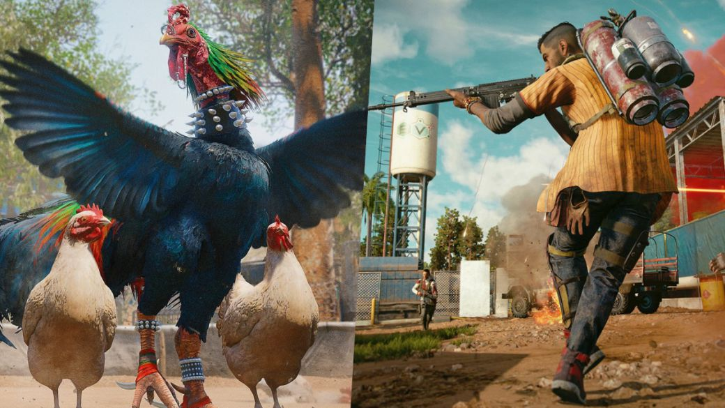 Chicharrón gets rooster in Far Cry 6 and builds a good one in the new game trailer