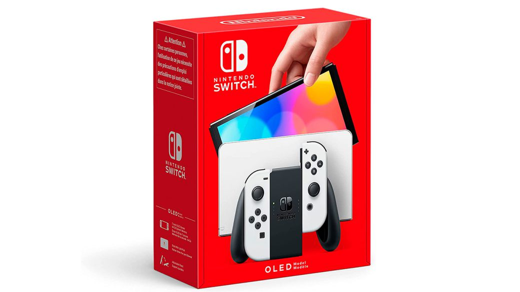Nintendo Switch OLED: official unboxing of the new Nintendo console in great detail