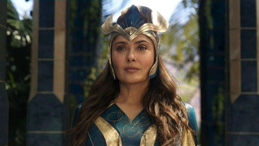Eternals: new images of the new MCU superheroes with Celestials and Deviants