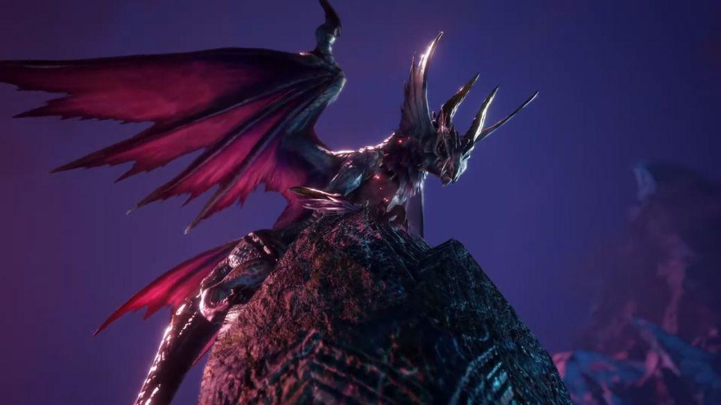 Monster Hunter Rise: Sunbreak challenges the dragon Malzeno in his new teaser trailer