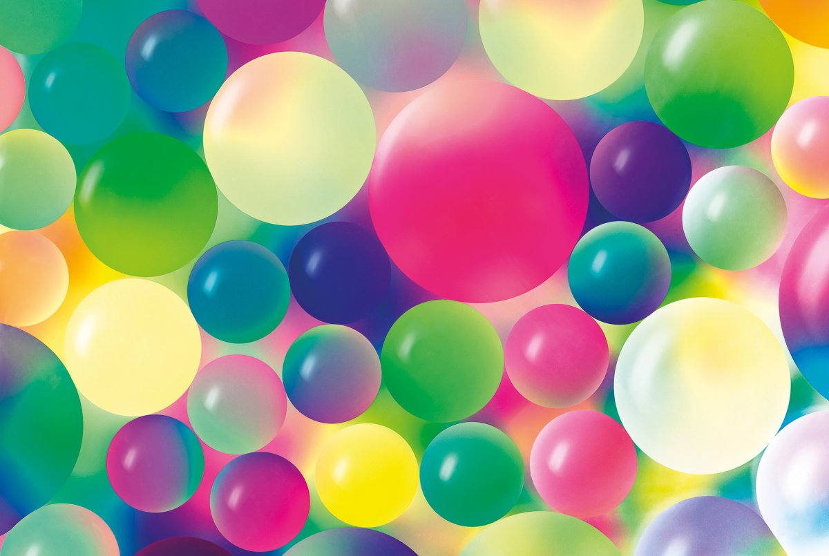 Abstract photography with oil pearls: capture the play of colors with the macro lens
