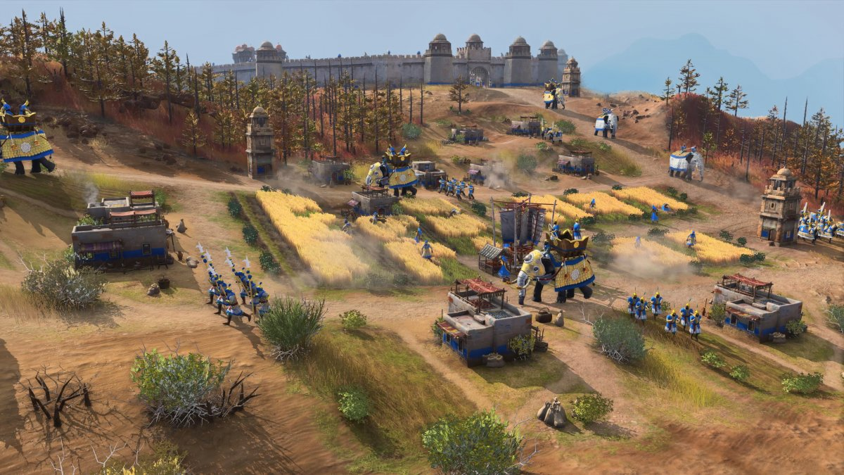 """""""Age of Empires 4"""": Open test phase starts on Friday"""