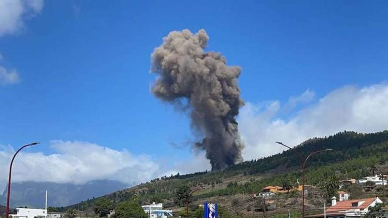 Alert in Spain: La Palma volcano erupted and concern grows in the Canary Islands