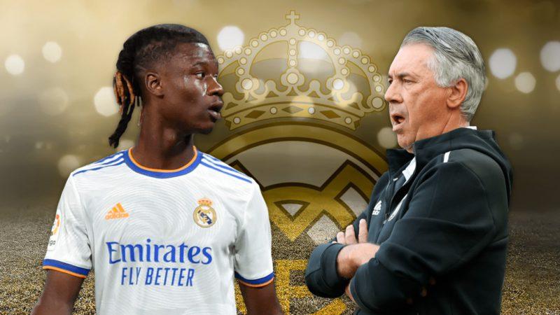 Ancelotti puts duties to Camavinga