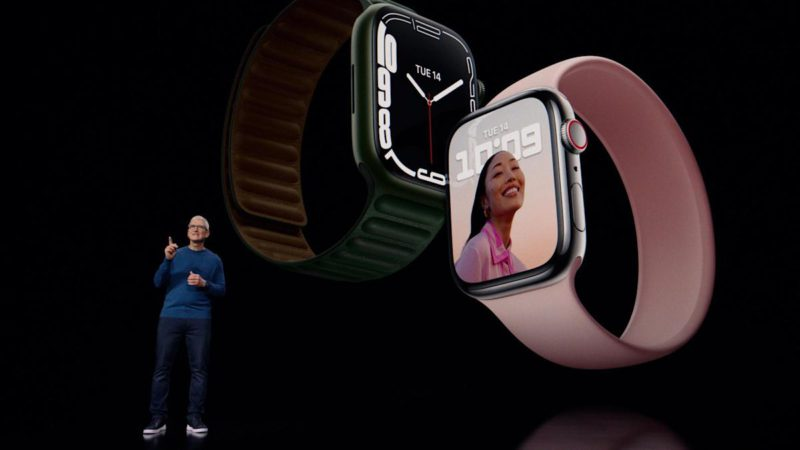 Apple introduces Apple Watch Series 7, with the largest screen