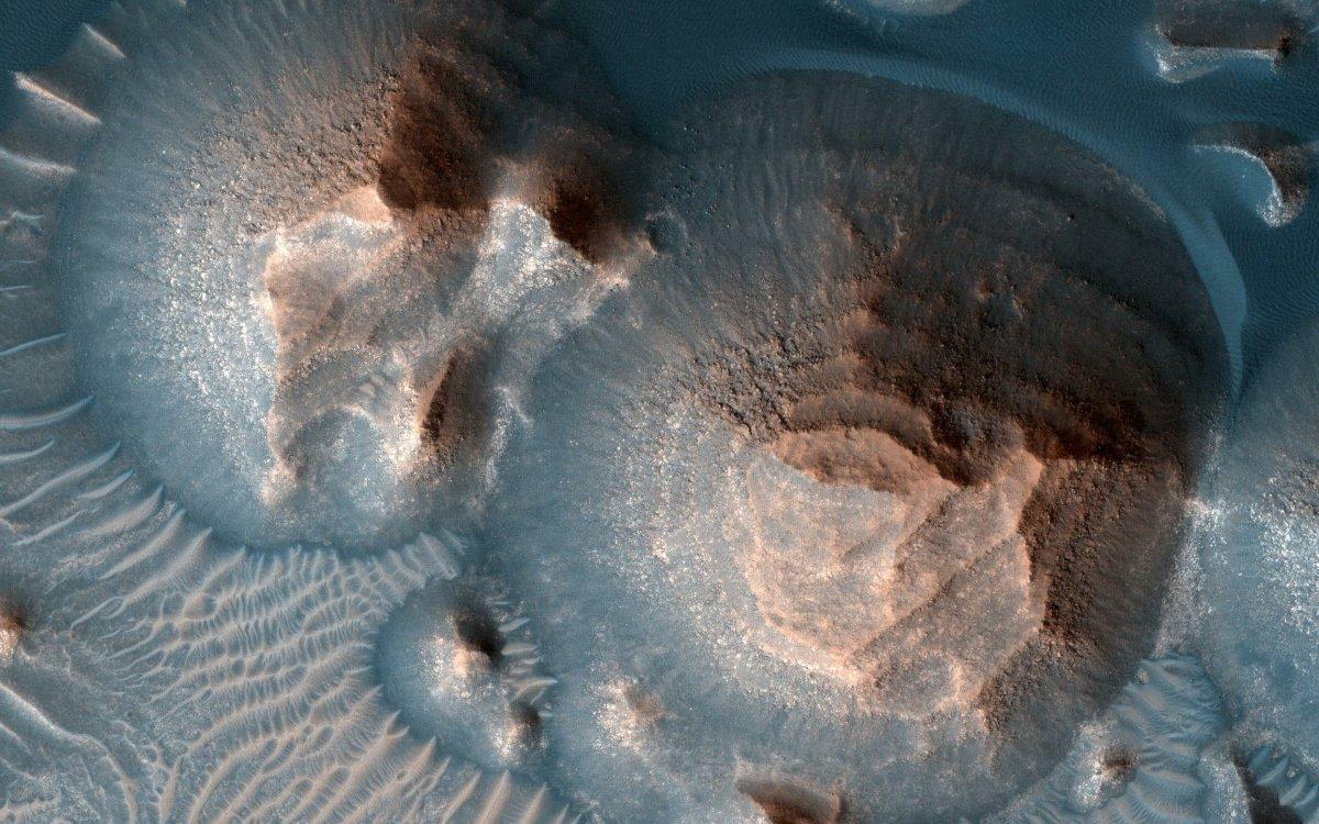 Arabia Terra: More than 1000 super volcano eruptions on early Mars
