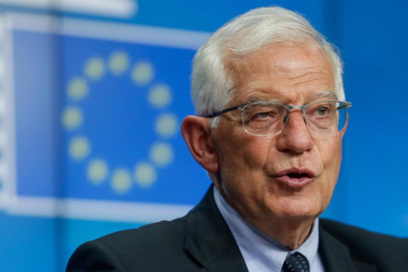 Borrell: every project with an environmental impact has to be evaluated by the EC