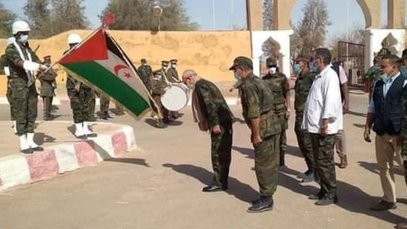 Brahim Ghali returns to the Tindouf camps (Algeria) after his controversial visit to Spain