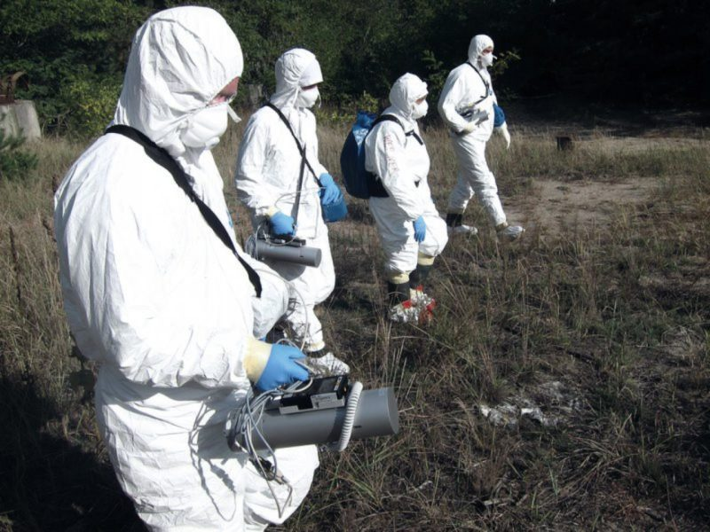 Chernobyl continues to shine: German experts measure in the exclusion zone