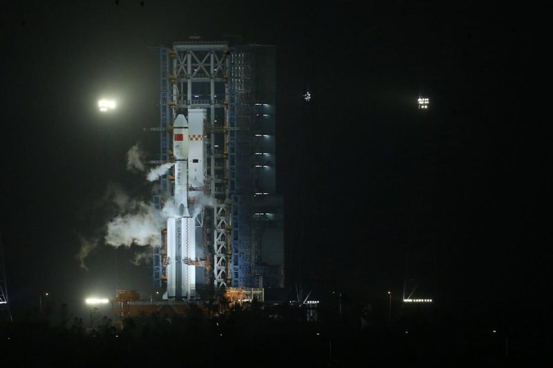 China successfully launches ship with materials and supplies for its space station